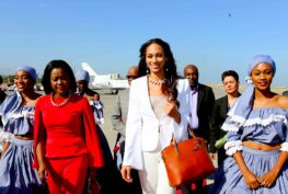 Arrivée en Haïti de Raquel Pelissier
